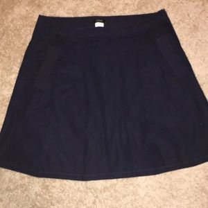 J. Crew 100% Cotton pleated Skirt